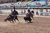 Nebraska High School Rodeo Finals team roping, Hastings, NE (Jun 2013)