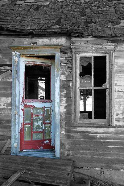 Abandoned house, Elm Creek, NE (Nov 2009)