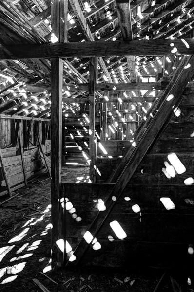 Let the sun shine in, abandoned barn, Miller, NE (Nov 2012, HDR)