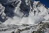 Avalanche on Larky Pass, Nepal