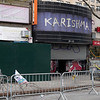 JACKSON HEIGHTS, QUEENS - March 14, 2021: for NEWS. Karishma, a women's clothing store on 74th Street in Jackson Heights, which was damaged along with four other stores in a 4-Alarm fire.  (Credit Photo by: Taidgh Barron)