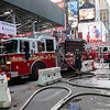 NEW YORK - October 10, 2019: for NEWS. FDNY on call for a generator explosion at Manhattan Box 829. (Photo by Taidgh Barron/NY POST)