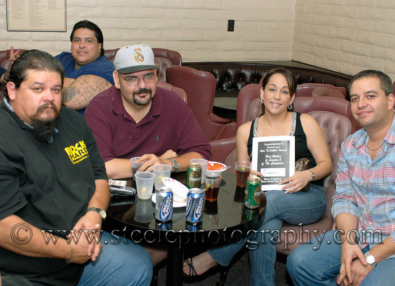 (7.18.2006, Tucson, Arizona)  Images from the party at the Tucson Knights of Columbus hall where Nito Bravo along with family, friends and fans watched the season premier of ESPN's Contender Boxing reality show.  Bravo, a Tucson boxer, is a participant in the show.