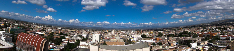 Panorama of San Luis Potosi in Mexico.