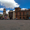 Main town square of San Luis Potosi, Mexico.