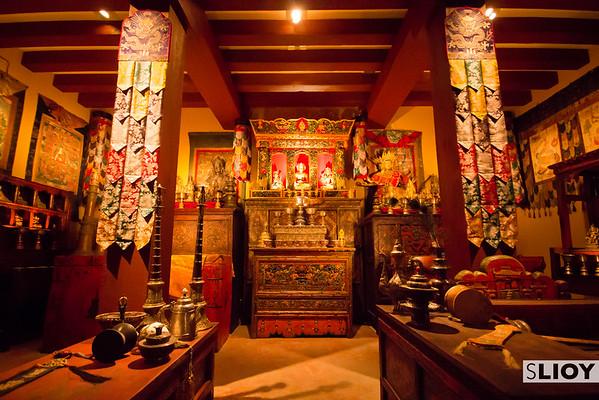 Tibetan Buddhist Temple at Rubin Museum in NYC