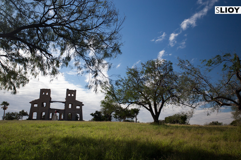 Ruins of a Catholic Mission in Texas' Rio Grande Valley.