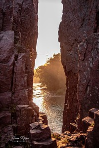 Sunrise at Palisade State Park in South Dakota. Enjoy and hold hands.
