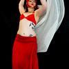 Belly Dancer Red Set 3 - Form and Motion