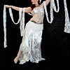 Belly Dancer - White Outfit - form and motion