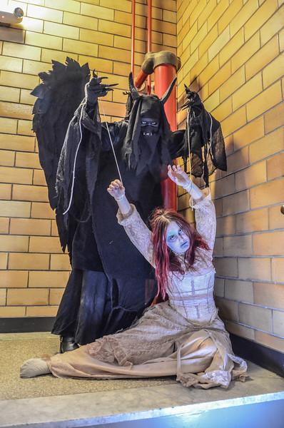 Daemon Puppet Master horror themed photo shoot