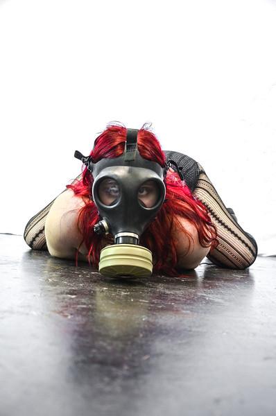 Gas Mask girl 2