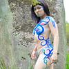 Kai - body paint - peasants and goddesses photo shoot