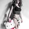 Laura Hello Kitty and Gasmask