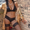 Marilyn Model rocking the world outdoors in lingerie