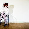 Pepper wheel chair and straight jacket