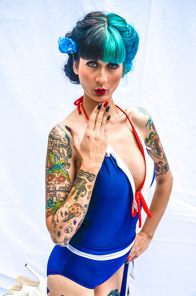 Pinup Model Alley Kat