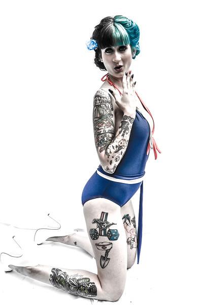 Pinup Model Alley Kat