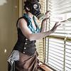 Rachel Hello Kitty and Gas Mask