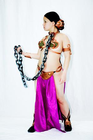 Slave Princess Leia Cosplay