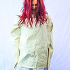Straight Jacket girl horror photo shoot