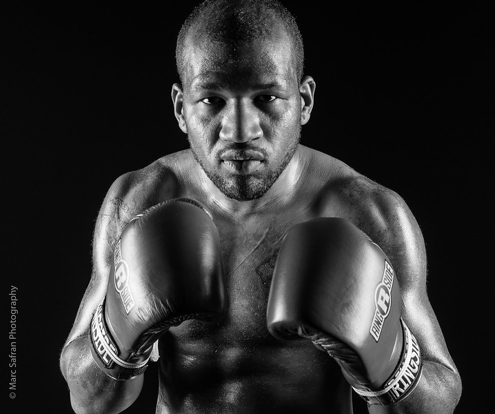 "Martez Potter, Boxer, ""The Punisher"""