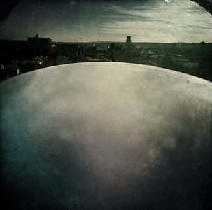 I saw the great dome before me. Was there a way inside? The city air was becoming oppressive...