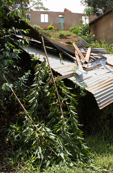 School washed down the mountain side in the floods