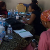 Participants discussing gender justce