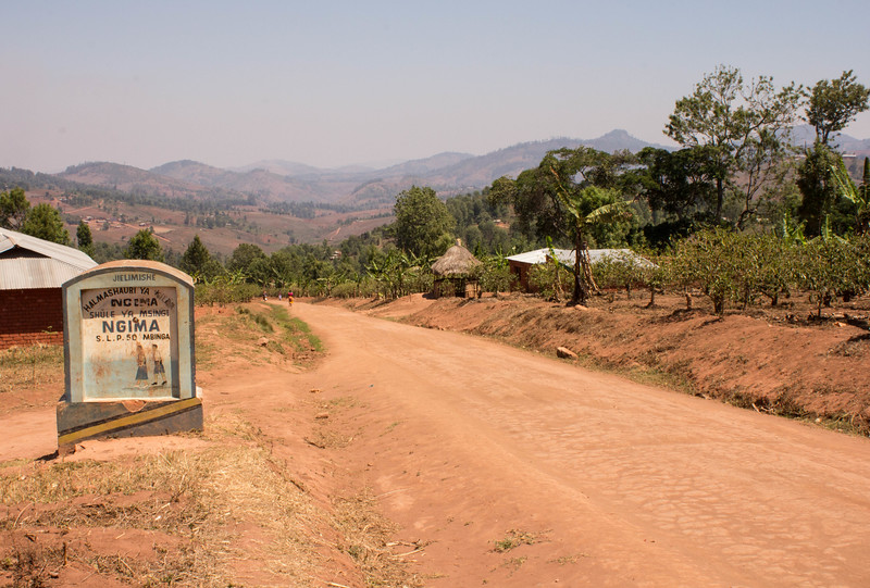 Ngima village view
