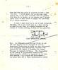 Letter from John Mumford
