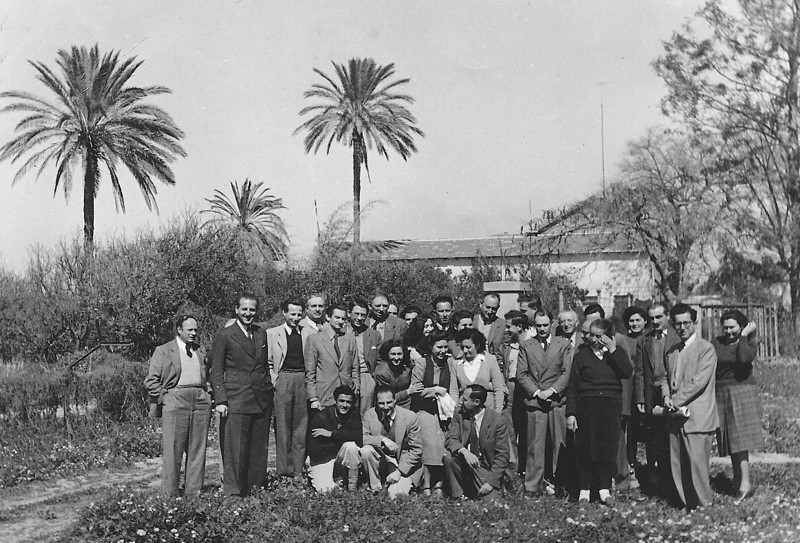 Group Photo of Members of the Planning Department.