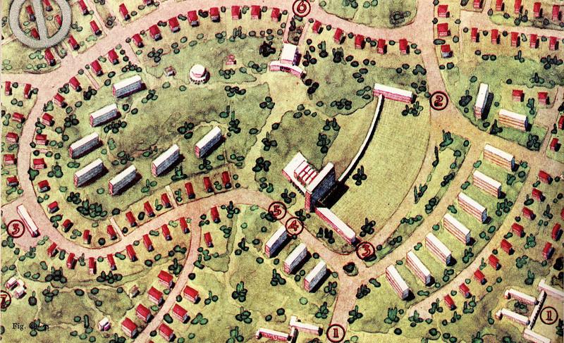 Fig. 49. Beersheba - Centre of First Neighbourhood Unit