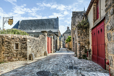 Le Mans Medieval Streets (France)