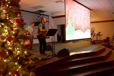 Rancho Christmas Eve Candle Light Service 2012