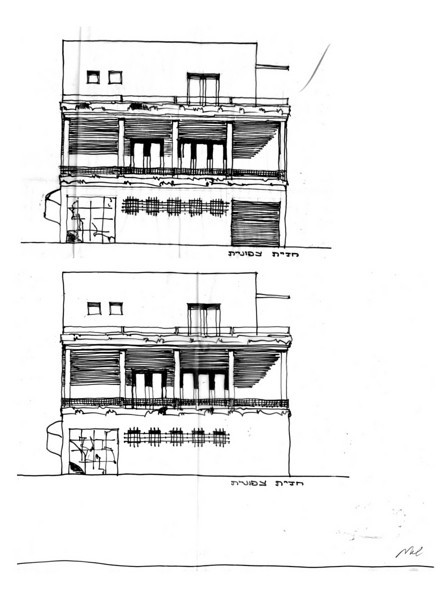 North Elevations