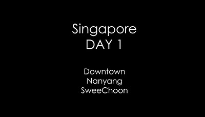 Sing Day 1