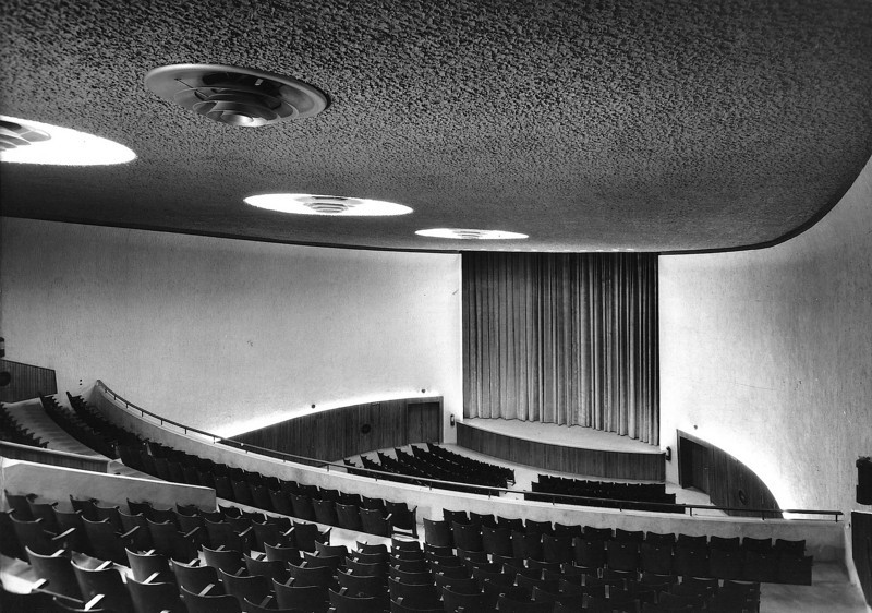 Interior of the Cinema Hall