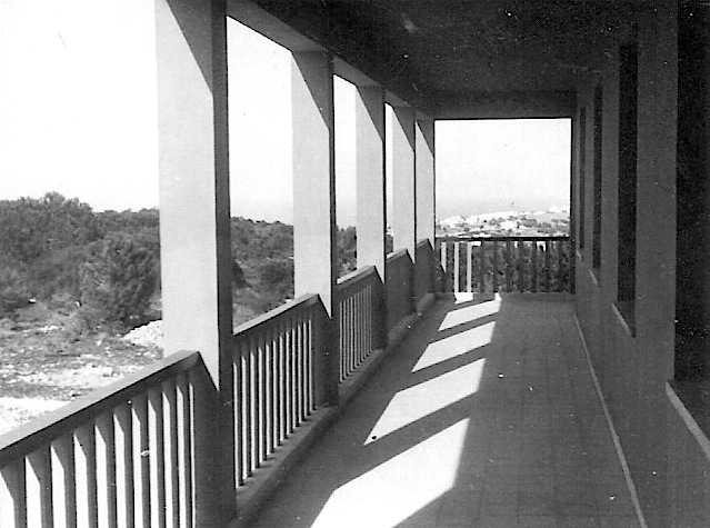 Porch Overlooking the Haifa Bay