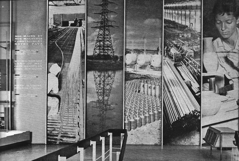 Wall Montage of Industry and Labour