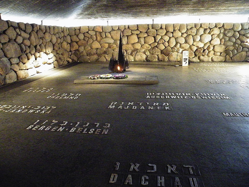 Eternal Flame - Concentration Camps Victims Memorial
