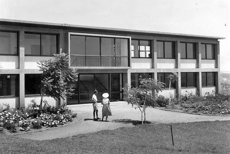 Entrance, 1958