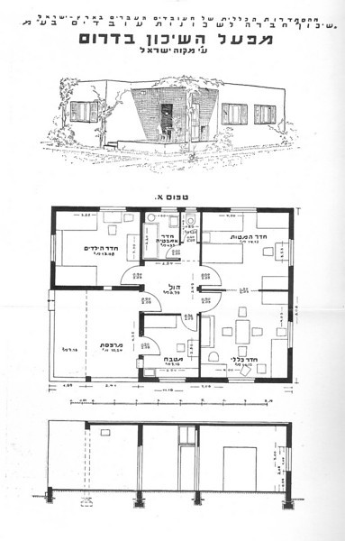 Perspective, Plan and Section