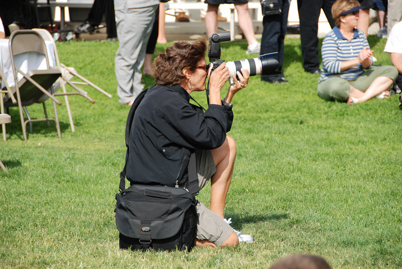 Professional photojournalists rely on Canon cameras...when you absolutely must get the shot. ;-)