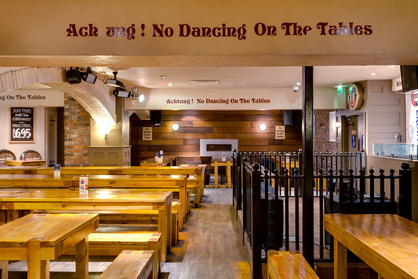 Photo's of Bierkeller bar and restaurant in Leeds park row, uk