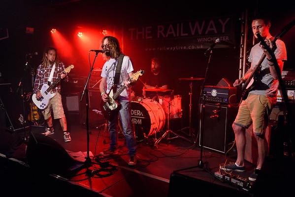 Riteoff @ The Railway Winchester 15/07/16