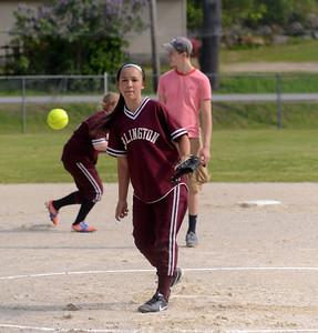 2013 AMHS M.S. Softball vs MEMS photos by Gary Bak