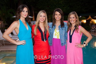 Carley Ochs, Danielle Norcross, Lacey Ivancevic, Beth Beattie