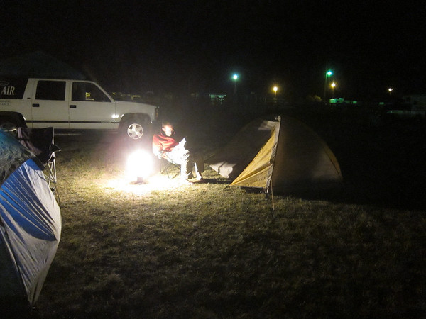 Our campground.