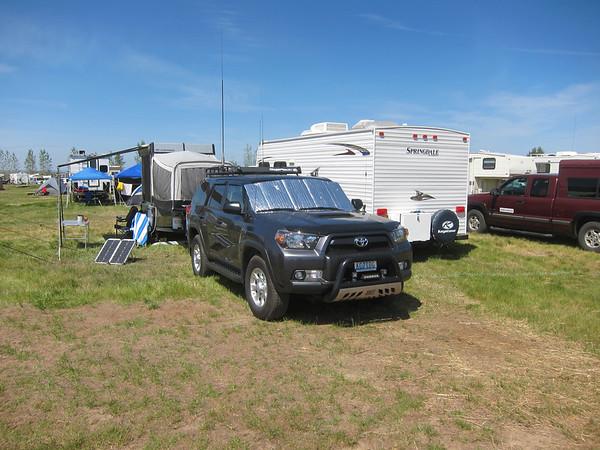 SAR truck setup.